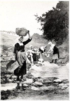 Ponthaven, Bretagne, Brittany, Trachten, Sabine Baring-Gould,