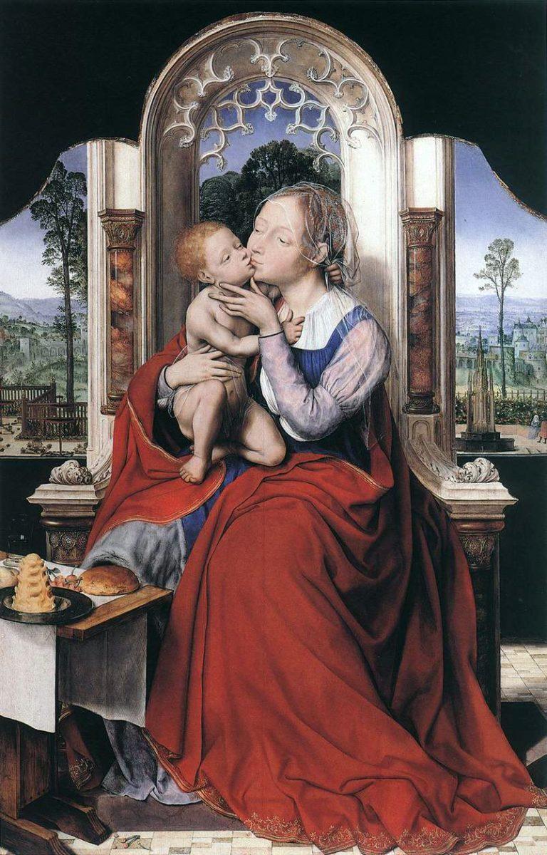 Quentin Massys, Jungfrau, Madonna, Renaissance, Antwerpener Schule, flämisch, Maler