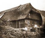 Uhrmacher und Bauernhaus im Gutachtal.