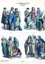 Kleidung der Christen und Araber vom 4. – 6. Jh.