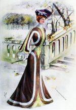 THE QUEEN, Die Zeitung der Dame. Kostüm Tailleur, 1898.