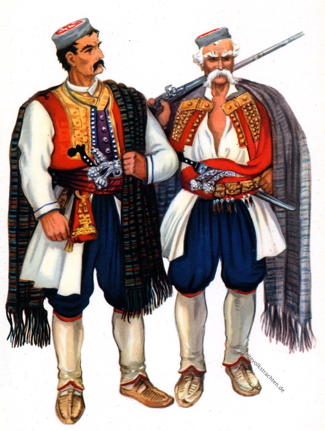 Krivošije, Montenegro, Trachten, Balkan, Kleider, Vladimir Kirin, Srpske, nacionalne, kostime