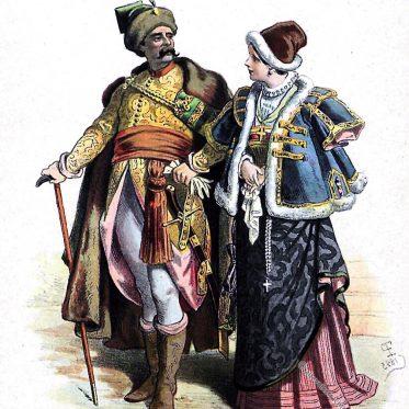 Polen, Kleidung, Barock, Kostüme, Mode, Adel, 17. Jahrhundert, Trajes, Polonia
