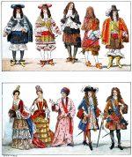Die französische Mode am Hof von Ludwig XIV.