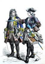 Ludwig XV. und französischer General.