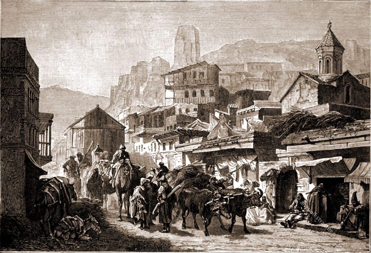 Tiflis, Georgien, Elisée Reclus, Asia,