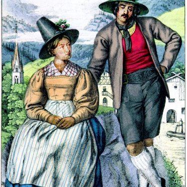 Eduard Duller, Trachten, Zillertal, Tirol, Österreich