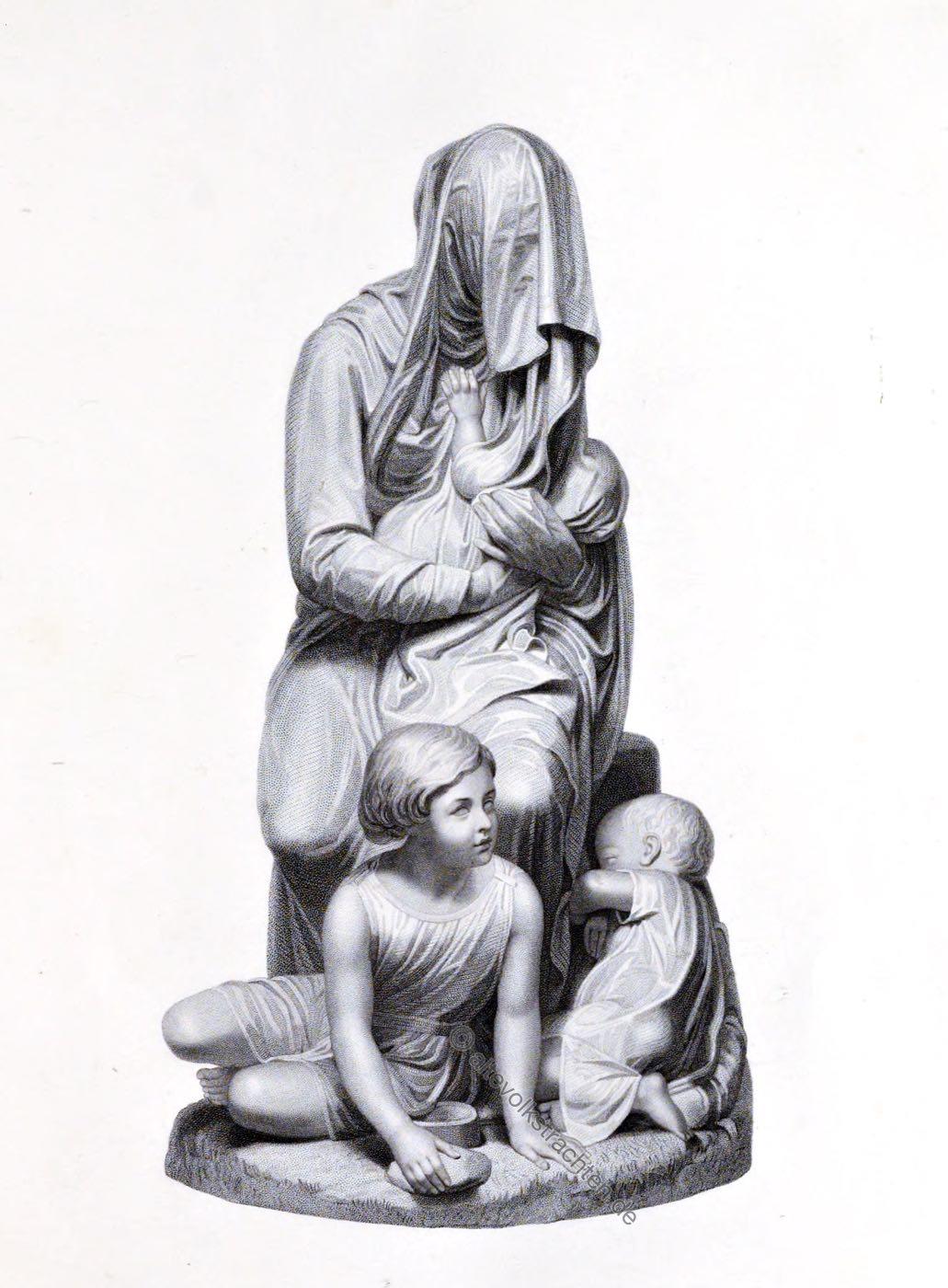 Bashful Beggar, Gandolph, Milan, sculpture
