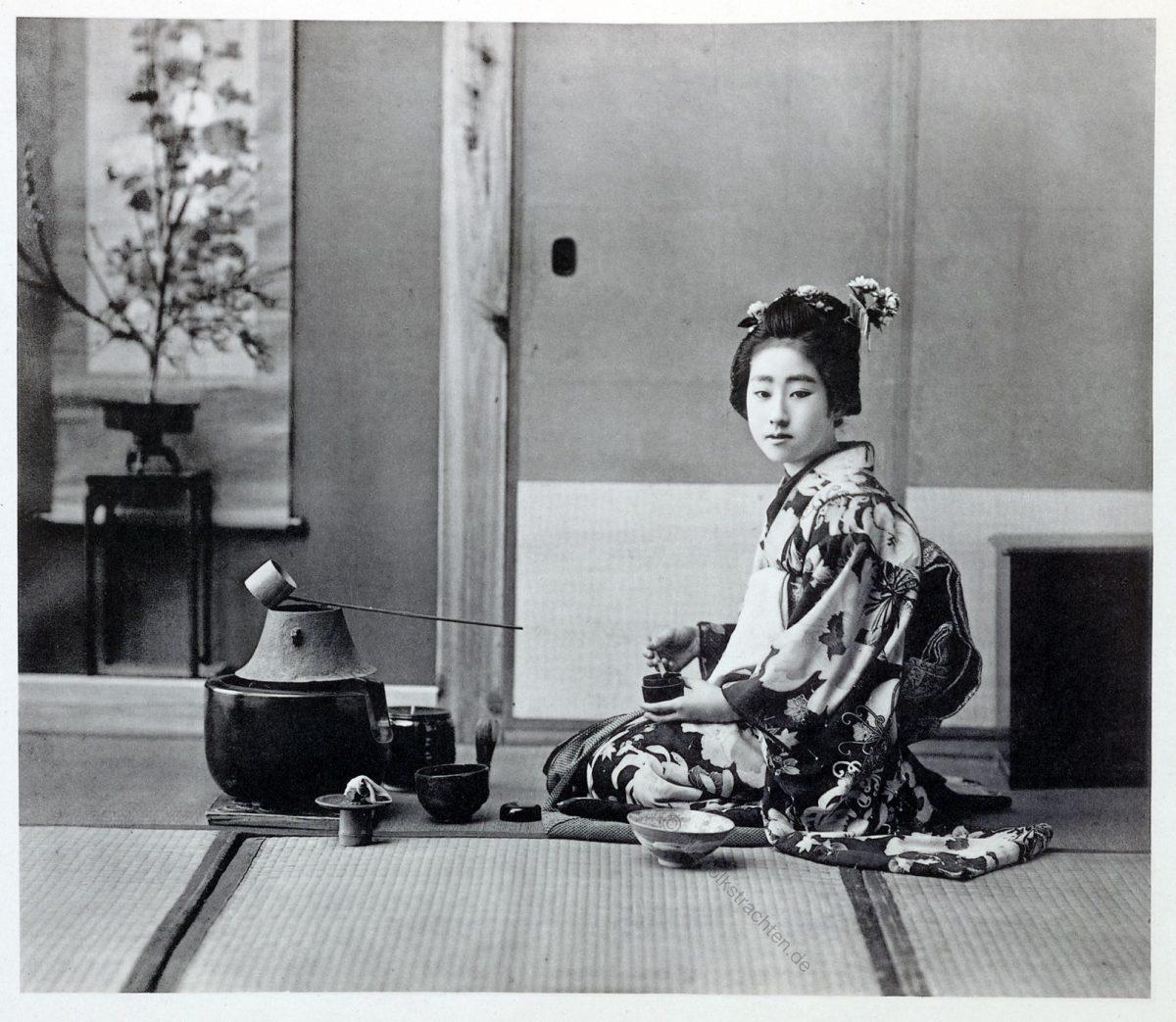 Kazuma Ogawa, Fotograf, Japan, Fotografie, Teezeremonie, chanoyu, Kostüme, Geisha, chanoyu