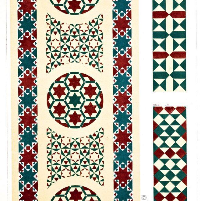 Opus Alexandrinum, Rom, Kirche, Mosaik, Sanctae Mariae trans Tiberim, Trastevere, Mittelalter