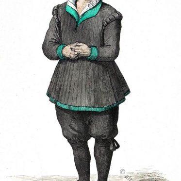 Bauernbräutigam aus der Nürnberger Gegend, um 1669.