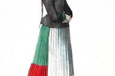 Bauernbraut, Nürnberg, Kostüm, Barock, Bekleidung, Lipperheide