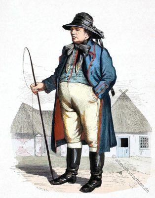 Pommern, Trachten, Bauer, Pyritz, lipperheide
