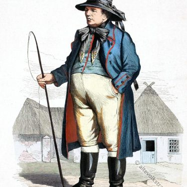Pommerscher Bauer aus dem Weizacker, Kreis Pyritz.
