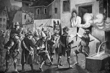 Haberfeldtreiben, Oberbayern, Brauch, Brauchtum, Folklore