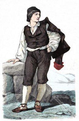 Tracht, Albona, Labin, Istrien, Kroatien, Dalmatien, Balkan, historische Kleidung, Kostümgeschichte, Croatia
