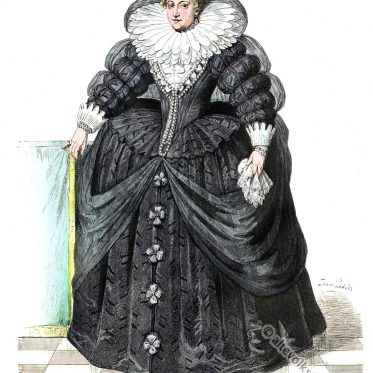 Maria von Medici Königin von Frankreich, 1610.