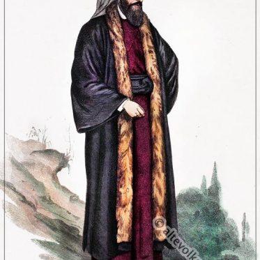 Liturgisches Gewand eines armenischen Priesters.
