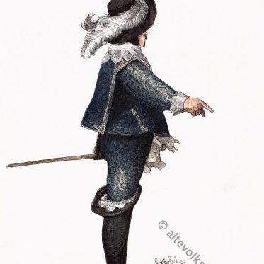 Christian IV. König von Dänemark  1625-1640.