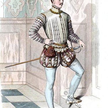 Deutscher Edelmann um 1640.