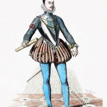 Don Juan de Austria um 1572 in spanischer Hoftracht.