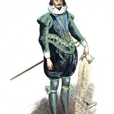 König Karl I. von England, aus dem Haus Stuart, im Jahre 1624.