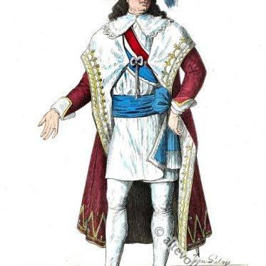 Kostüm der franz. Revolution. Mitglied des Directoriums.