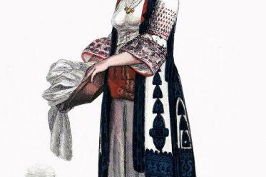 Griechenland, Trachten, traditionell, Athen, Kostüm, Lipperheide