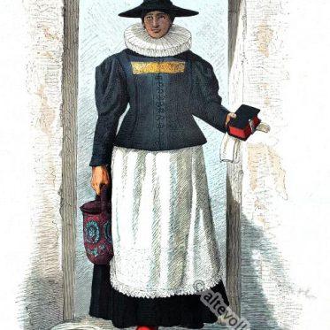 Bäuerin zur Zeit des österreichischen Bauernkrieges 1626.