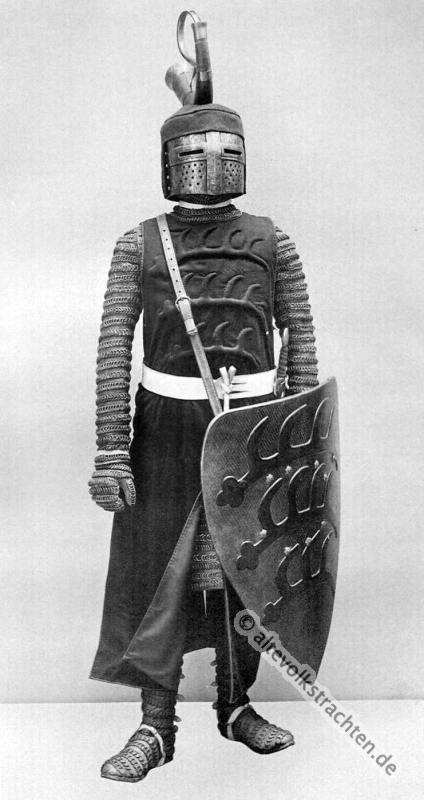 Ritter, Rüstung, Harnisch, 13. Jahrhundert, Mittelalter, Militär