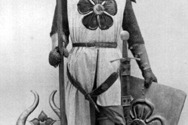Mittelalter, Ritter, Ritterrüstung, Kettenpanzer, Ringelpanzer, Brünne, 13. Jahrhundert