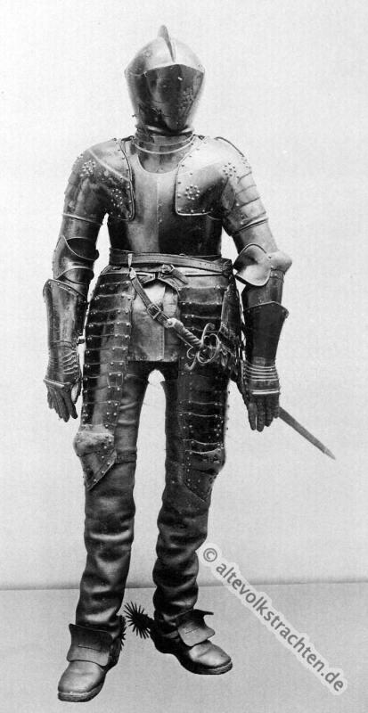 Rüstung, Reiter, Kürisser, schwere Kavallerie,Militär, Barock, 30jähriger Krieg,