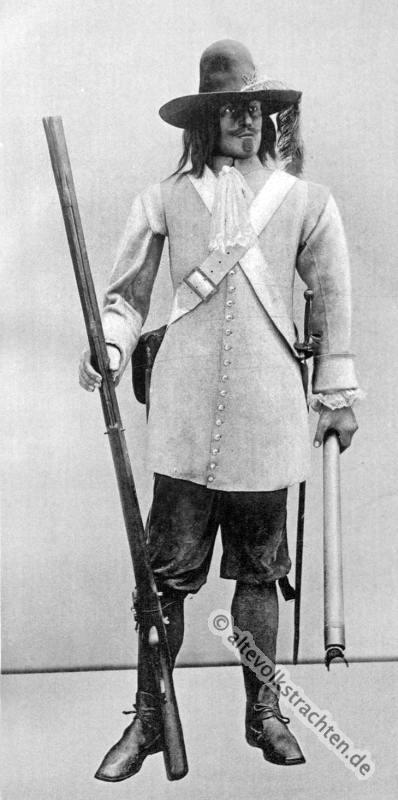 Soldat, Barock, 17. Jahrhundert, Schütze, Militär, Rüstung,
