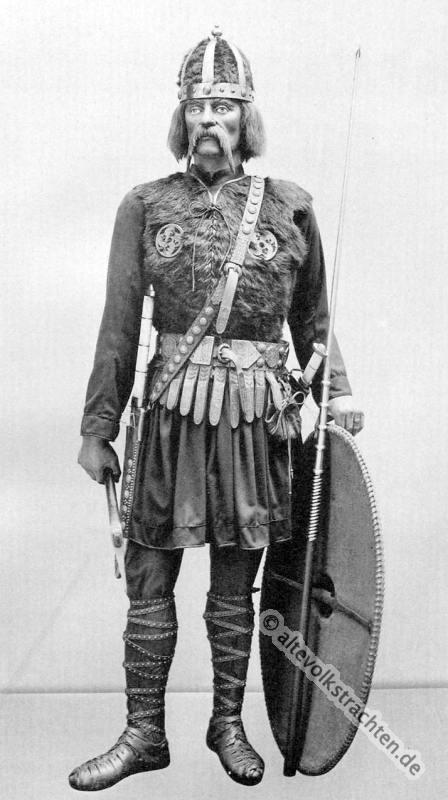 Merowinger, fränkischer Krieger, Rüstung, Harnisch, Bewaffnung,Ritter, Mittelalter