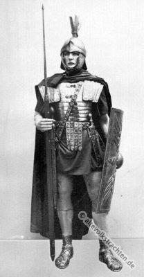 Legionär, Kostüm, Rüstung, Soldat, Antike, Bewaffnung, Karl Gimbel