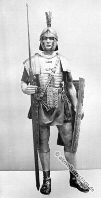 Legionär, Rüstung, Kostüm, Soldat, Antike, Bewaffnung, Sagum