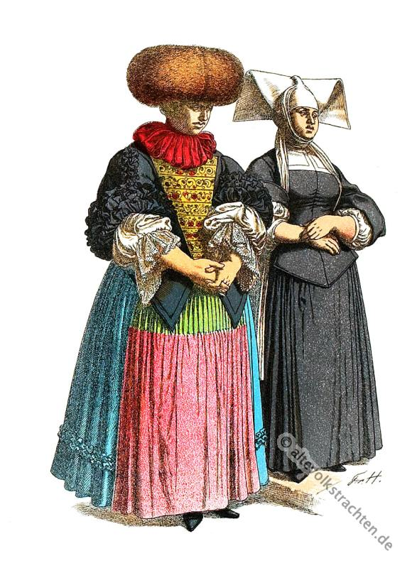 Barock, Rokoko, Friedrich Hottenroth, Kostüme, Modegeschichte, Strassburg