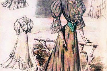 Belle Époque, Mode, Kostüm, Jugendstil,