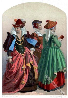 Renaissance, Kostüme, Mode, 16. Jahrhundert, Jost Amman, Kostümgeschichte