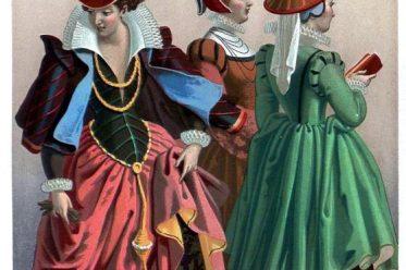 Renaissance, Kostüme, Mode, 15. Jahrhundert, Kostümgeschichte