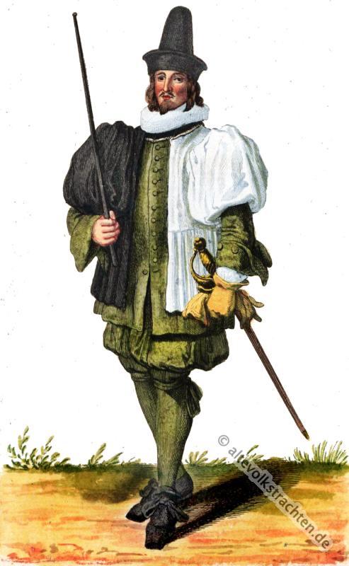 Stadtknecht, Schweiz, Barock, Kostüm, Amtstracht, Tracht