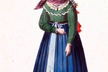 Bayern, Tracht, Dirndl, Unterfranken, Mariabildjungfrau