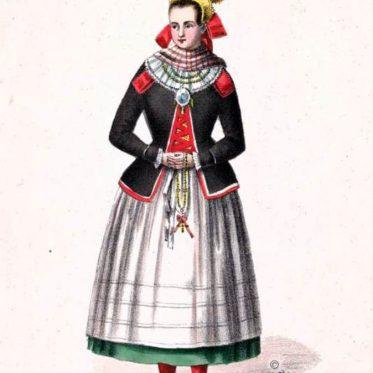 Saal an der Saale. Mariabildjungfrau, Unterfranken um 1850.