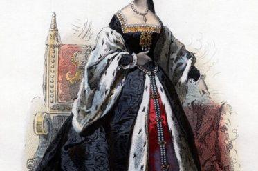 Anne Boleyn. Tudor Mode. Renaissance Kostümgeschichte. 16. Jahrhundert Kostüm.