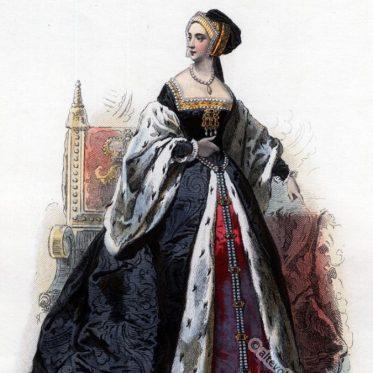 Anne Boleyn. Frau von Heinrich dem VIII. Tudor.