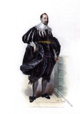 Gustav II, Adolf, 17, Jahrhundert, Mode, Barock, Kostüm, Kostümgeschichte
