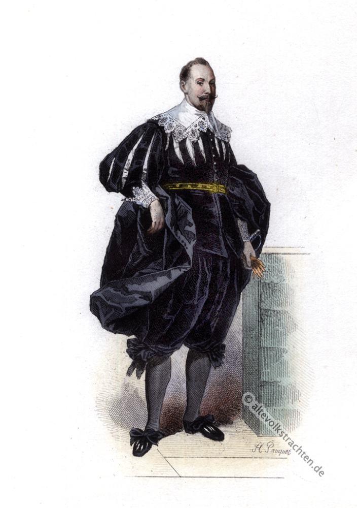 Gustav II. Adolf, 17, Jahrhundert, Mode, Barock, Kostümgeschichte