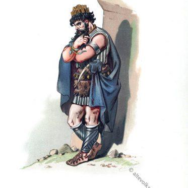 Der Zwerg Alberich. Kostümentwurf für Der Ring des Nibelungen.