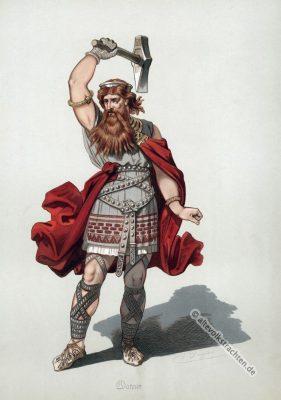 Thor, Germanien, edda, Gott, Kostüm Richard Wagner, Oper