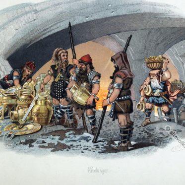 Die Nibelungen. Das Rheingold.